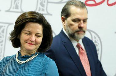 MINISTROS DO STF FAZEM CAMPANHA POR RAQUEL DODGE