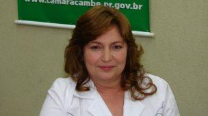 MORRE ALZIRA DA FARMÁCIA, VEREADORA DE CAMBÉ