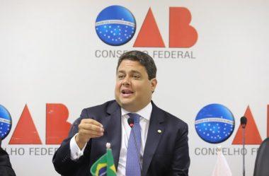 JUSTIÇA REJEITA DENÚNCIA CONTRA PRESIDENTE DA OAB
