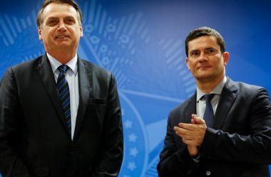 PESQUISA MOSTRA SÉRGIO MORO NA FRENTE DE BOLSONARO