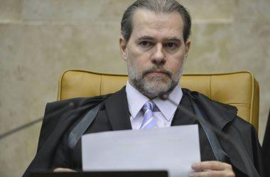 MINISTRO DIAS TOFFOLI VÊ 'CLIMA DE DISPUTA PERMANENTE'