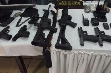 POLICIAIS RECEBERÃO BONIFICAÇÃO POR APREENSÃO DE ARMAS ILEGAIS