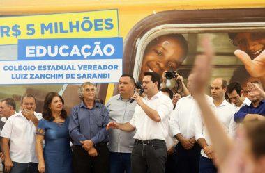 58 MIL KITS DE MATERIAL ESCOLAR VÃO PARA CIDADES COM BAIXO IDH