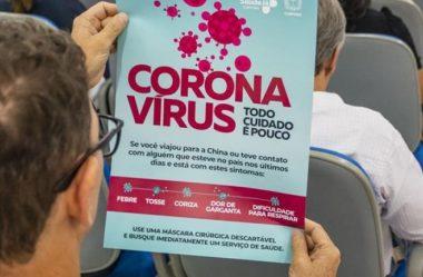 CASOS SUSPEITOS DE CORONAVÍRUS SOBEM PARA 49 NO PARANÁ