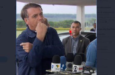 BOLSONARO FARÁ NOVO TESTE DE CORONAVÍRUS E FICARÁ EM ISOLAMENTO