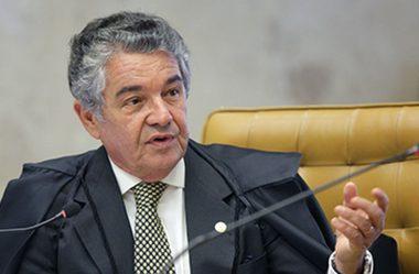 MARCO AURÉLIO SUSPENDE DEPOIMENTO DE BOLSONARO