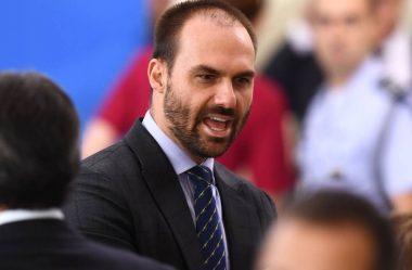 EDUARDO BOLSONARO: 'MORO NÃO ERA MINISTRO, ERA ESPIÃO'