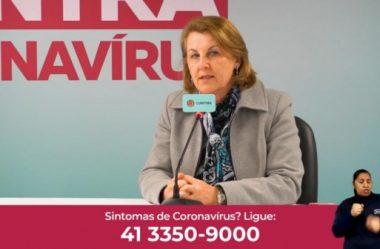 COM 'EXPLOSÃO' DE CASOS EM CURITIBA, SECRETÁRIA FALA EM LOCKDOWN E 75 DIAS DIFÍCEIS