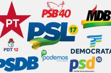 VEJA OS PARTIDOS QUE VÃO GANHAR MAIS DINHEIRO DO FUNDO ELEITORAL