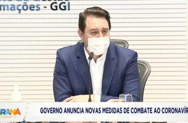 GOVERNO DO PR SUSPENDE SERVIÇOS NÃO ESSENCIAIS EM 7 REGIONAIS