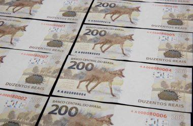 NOTA DE R$ 200 COM O LOBO-GUARÁ SERÁ APOSENTADA LOGO, DIZ GUEDES