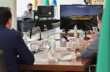 RATINHO RELANÇA PROJETO DE FERROVIA QUE LIGA MATO GROSSO A PARANAGUÁ