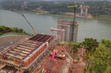 CONSTRUÇÃO DA PONTE DA INTEGRAÇÃO, QUE LIGARÁ FOZ AO PARAGUAI, JÁ ATINGE 34%