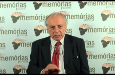 MORRE O EX-DEPUTADO PARANAENSE LEO DE ALMEIDA NEVES
