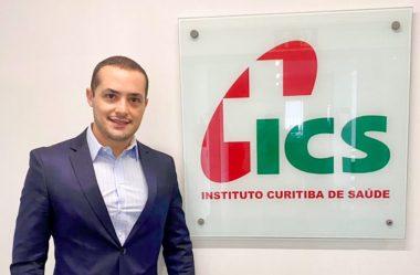 TIAGO WATERKEMPER ASSUME PRESIDÊNCIA DO ICS