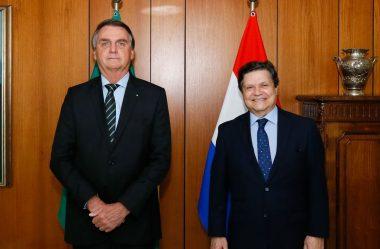 CHANCELER DO PARAGUAI PEDE APOIO DO BRASIL NO COMBATE À PANDEMIA