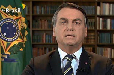 NA TV, BOLSONARO DIZ QUE BRASIL SERÁ AUTOSSUFICIENTE NA PRODUÇÃO DE VACINAS