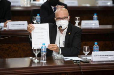 ROMANELLI MOSTRA AO MINISTRO DA INFRAESTRUTURA POSIÇÃO DA SOCIEDADE SOBRE CONCESSÕES