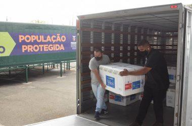 PARANÁ RECEBE MAIS 363,8 MIL VACINAS CORONAVAC PARA PRIMEIRA E SEGUNDAS DOSES