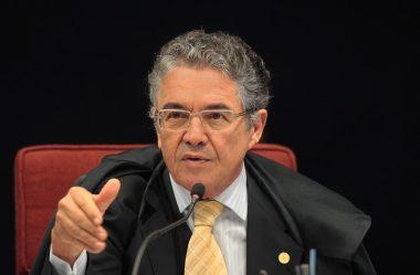 MARCO AURÉLIO SOBRE BOLSONARO: SÓ COM MORDAÇA
