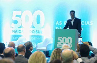 EMPRESAS DO PARANÁ LIDERAM RANKING NO PRÊMIO 500 MELHORES DO SUL