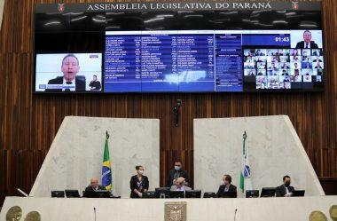 DEPUTADOS APROVAM CRÉDITO ESPECIAL DE R$ 319,3 MILHÕES PARA A SAÚDE NO PARANÁ