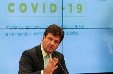 BRASILEIRO NÃO SABE SE ESCUTA MINISTRO OU PRESIDENTE, DIZ MANDETTA