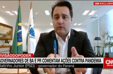 RATINHO JR DEFENDE ISOLAMENTO SOCIAL, MAS EVITA CONFRONTO COM BOLSONARO