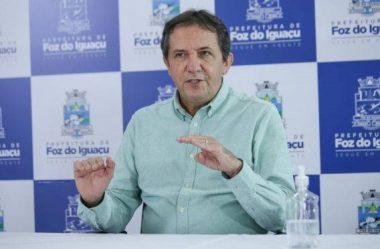 PREFEITO DE FOZ ANUNCIA DECRETO PARA REABERTURA DO COMÉRCIO