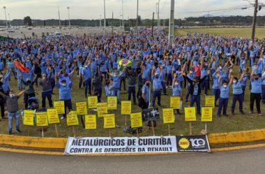 PARANÁ EXIGE QUE RENAULT REVEJA DEMISSÃO DE 747 TRABALHADORES, DIZ ROMANELLI