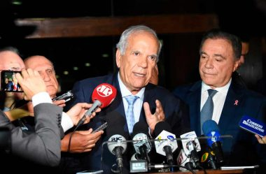 SENADORES ALVARO E ORIOVISTO PARTICIPAM DE LIVE DO TRIBUNAL DE CONTAS