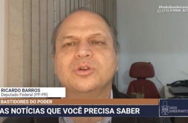 SE A LAVA-JATO FEZ TUDO DENTRO DA LEI, NÃO HÁ O QUE TEMER, AFIRMA RICARDO BARROS