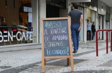 NO PARANÁ, 9,5 MIL LOJAS FECHARAM DURANTE A PANDEMIA