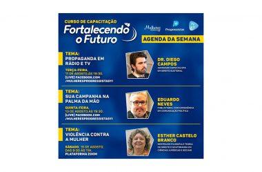 PP REALIZA PALESTRAS ONLINE PARA CAPACITAR PRÉ-CANDIDATOS