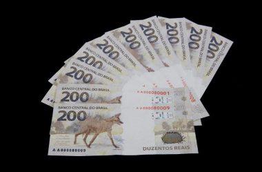 NOTA DE R$ 200,00 JÁ ESTÁ EM CIRCULAÇÃO