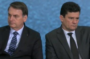 SERGIO MORO E MINISTRO ANDRÉ MENDONÇA TROCAM FARPAS POR BOLSONARO