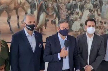 EM VISITA A CURITIBA, ARTHUR LIRA DEFENDE INDEPENDÊNCIA DA CÂMARA