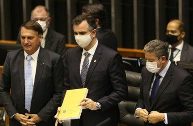 PRESIDENTES DA CÂMARA E DO SENADO DEFENDEM NOVO AUXÍLIO EMERGENCIAL