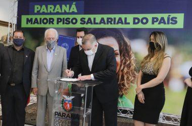 NOVO SALÁRIO MÍNIMO REGIONAL ENTRA EM VIGOR NO PARANÁ