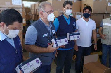 GOVERNO ENVIA TESTES E ADOTA BARREIRA SANITÁRIA PARA CONTER CEPA INDIANA DA COVID