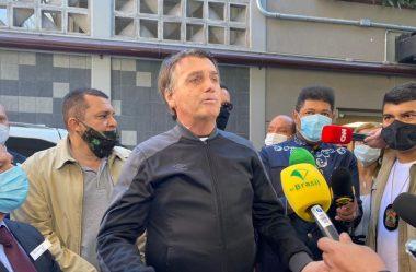 APÓS ALTA, PRESIDENTE DIZ QUE VAI SE REUNIR COM MINISTRO DA SAÚDE